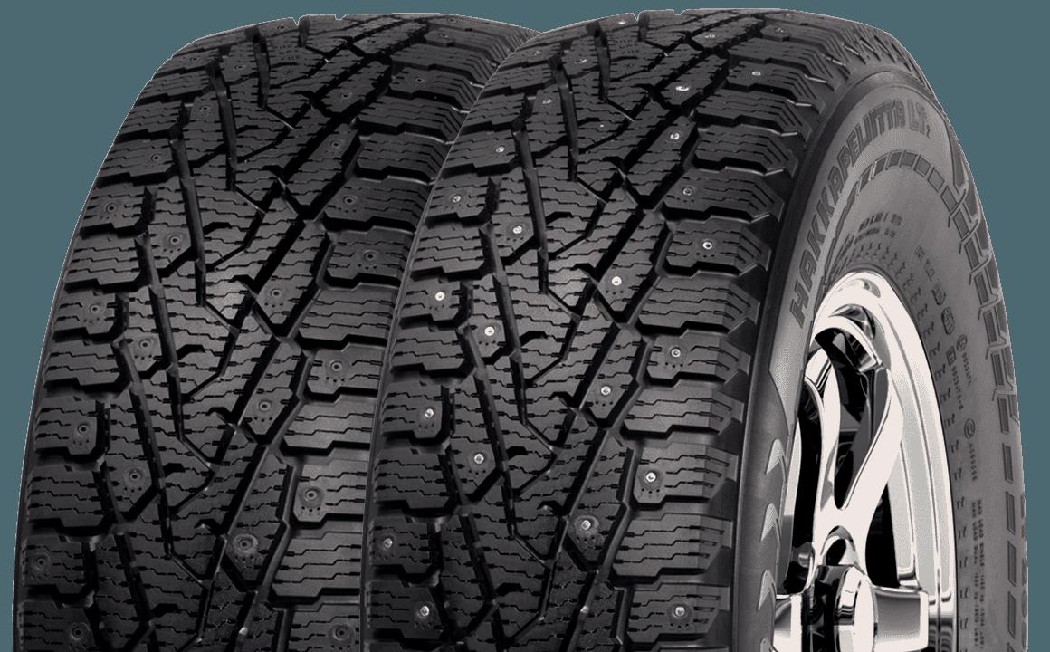 Snow Tyres - Nokian Hakkapeilitta LT2