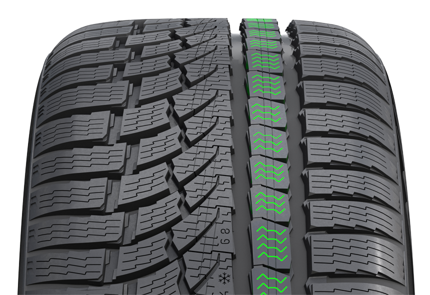 Snow Tyres Nokian WR A4 Centipede Siping